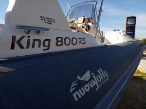 Semi rigide King 800 RS à louer à Hyères